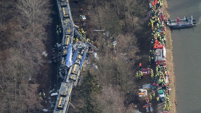 Treinongeval Duitsland Veroorzaakt Menselijk Falen